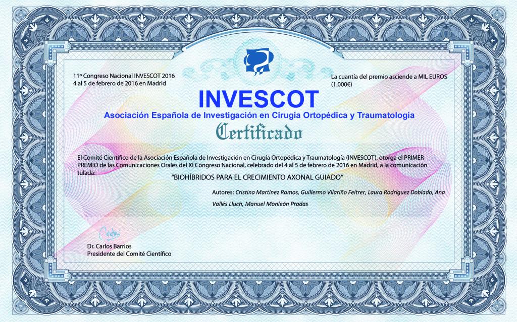 Certificado Biohíbridos